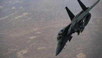 American Airstrikes Hit Iranian-backed Militias in Syria
