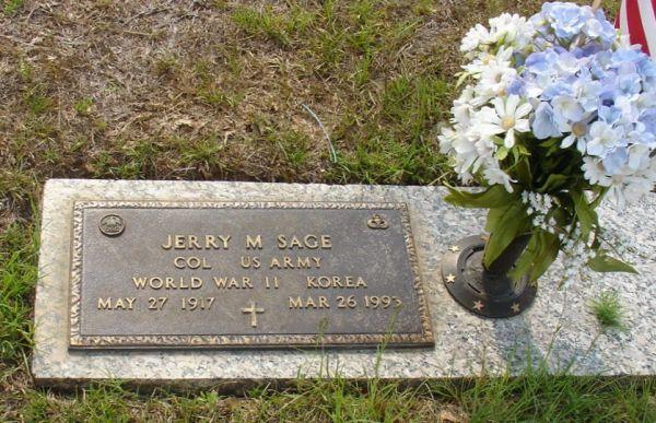 Sage's gravesite