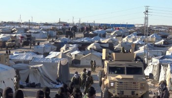 US-Backed Syrian Kurds Sweep al-Hol Refugee Camp, Arrest ISIS