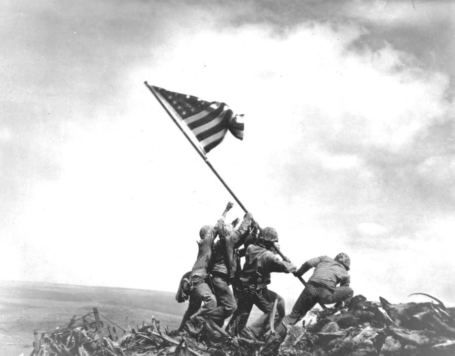 Mt. Suribachi Iwo Jima Marines