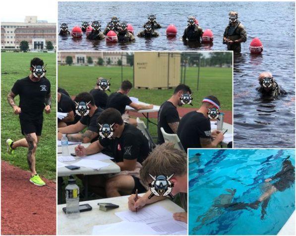 Combat Diver Competition