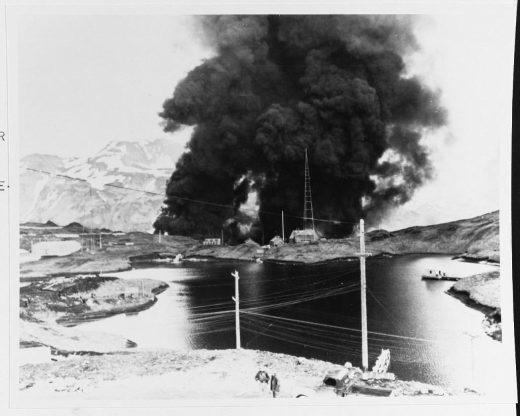 Aleutian islands invasion