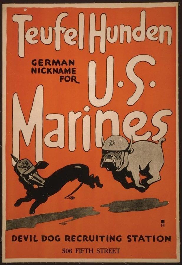 Devil Dogs Marines Teufelhunden