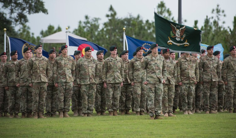 Some of the Army's most elite soldiers are based in Florida.