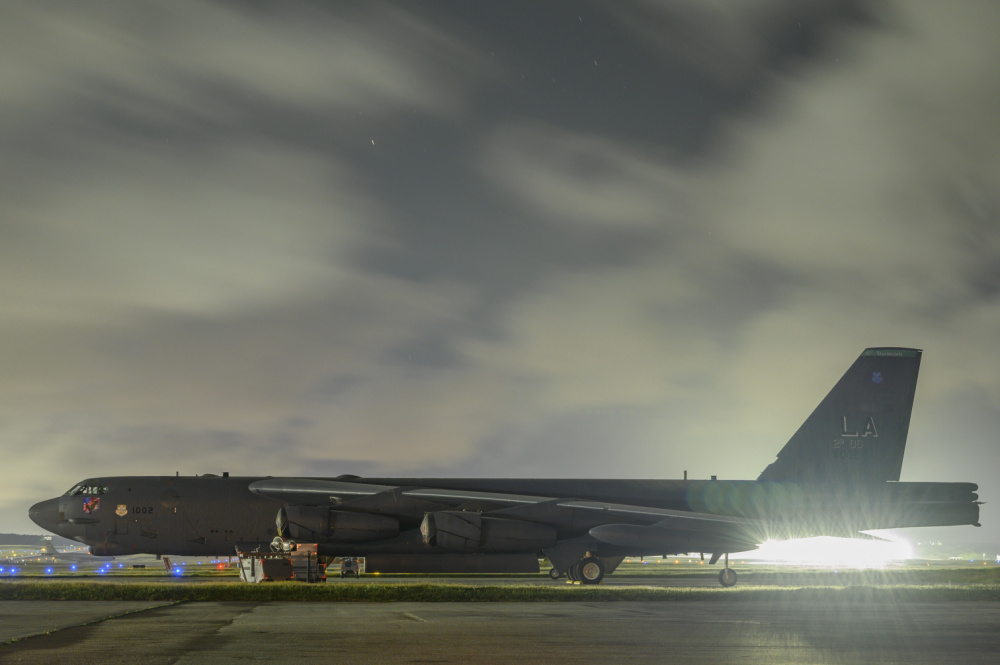 A B-52 Stratofortress. How does it compare to the B-36 Peacemaker?