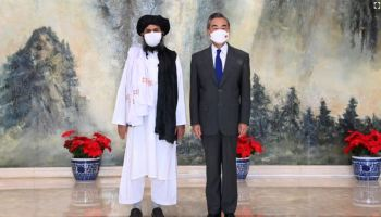 An Axis of Evil? China Looks to Taliban for 'Peace, Reconstruction, Reconciliation'