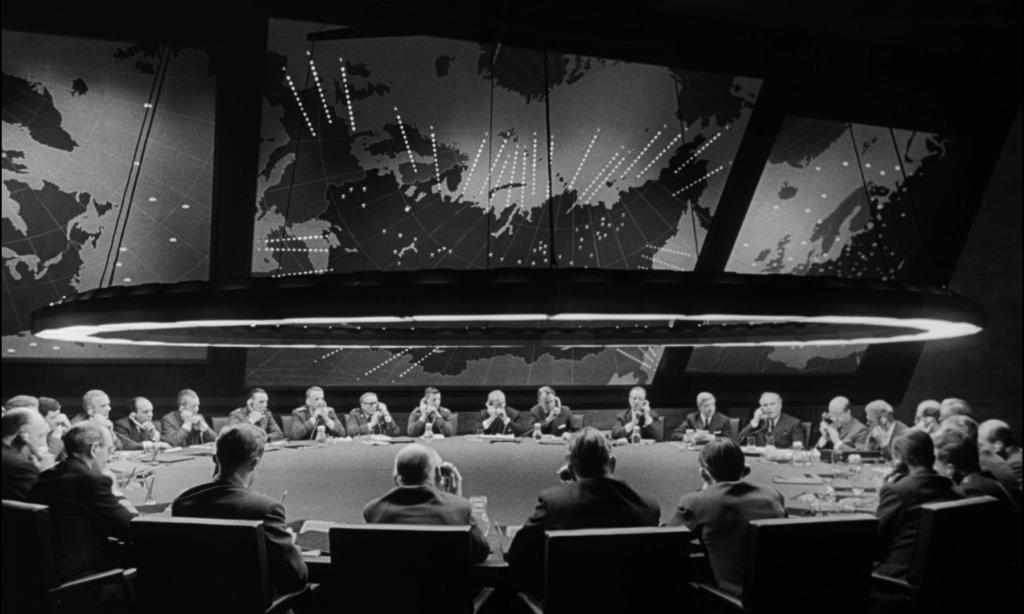 The War Room in Dr. Strangelove