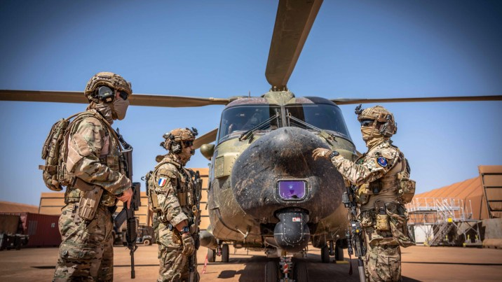 France has special operations troops stationed in the Sahel.