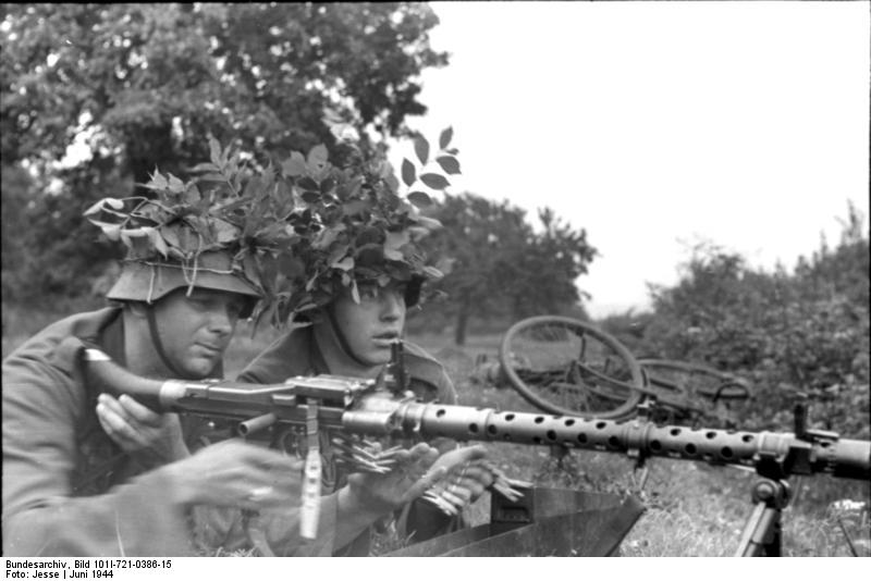 The German MG 34 is considered by many to be the best weapon of WWII.