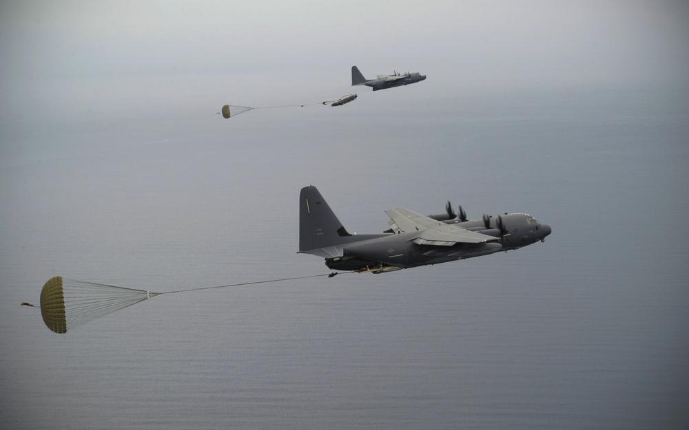 MC-130J MC-130H airdrop