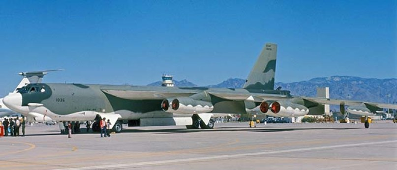 B-52H Strategic Integrated Operational Plan Camouflage