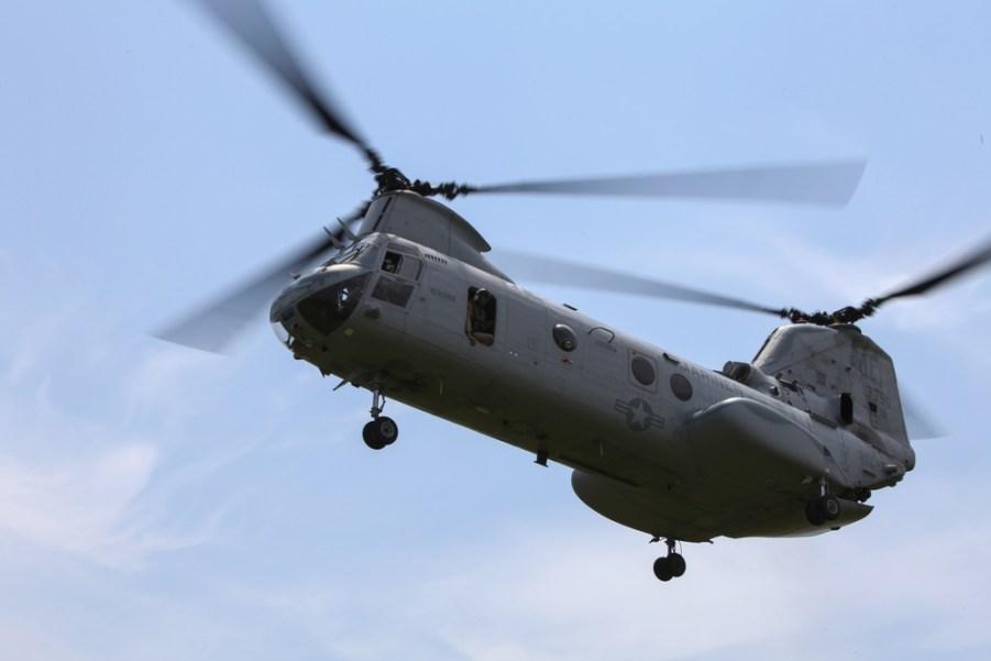 CH-46E Sea Knight Marines Phrogs