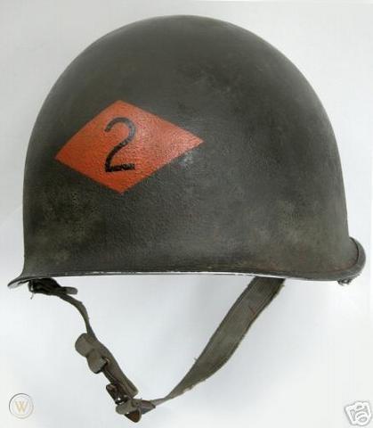 2nd Ranger Battalion WWII helmet