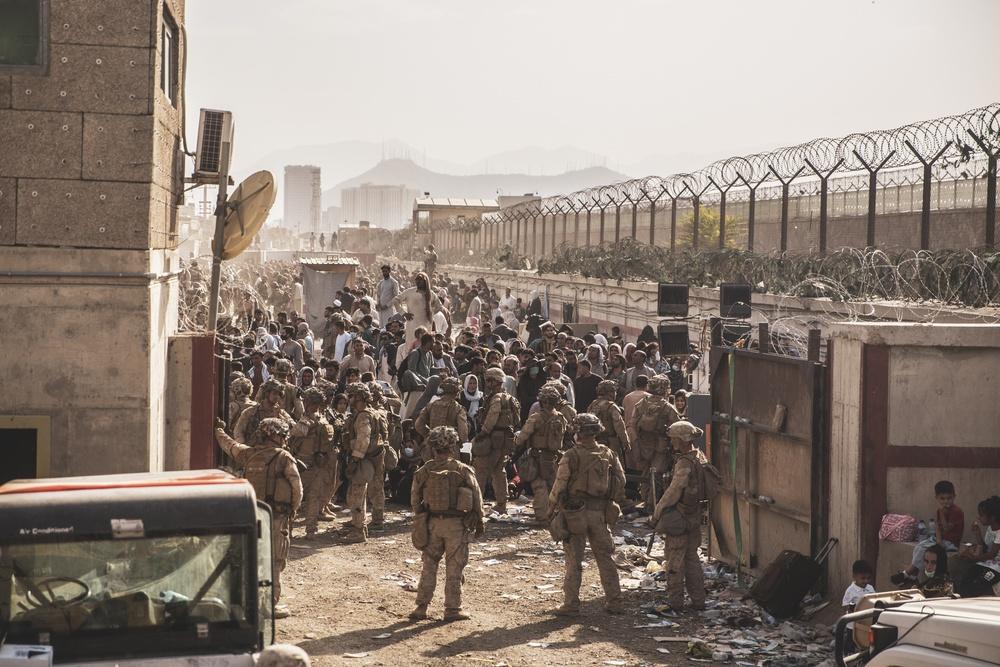 Marines Kabul evacuation Afghanistan