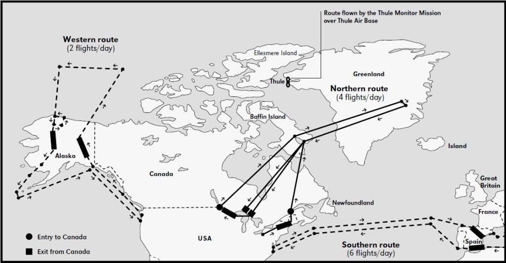 B-52 Operation Chrome Dome Alert Flights