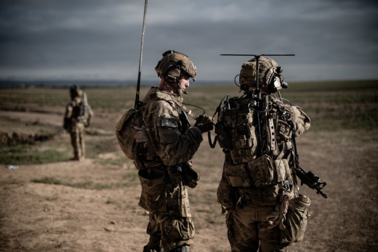 Rangers operating in the Middle East.