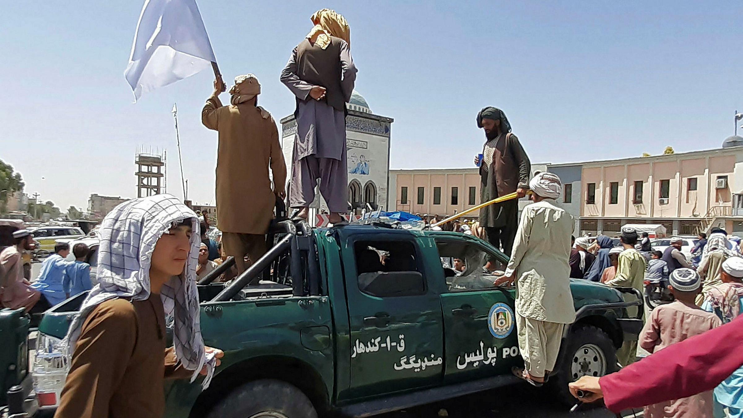 Taliban fighters Kandahar