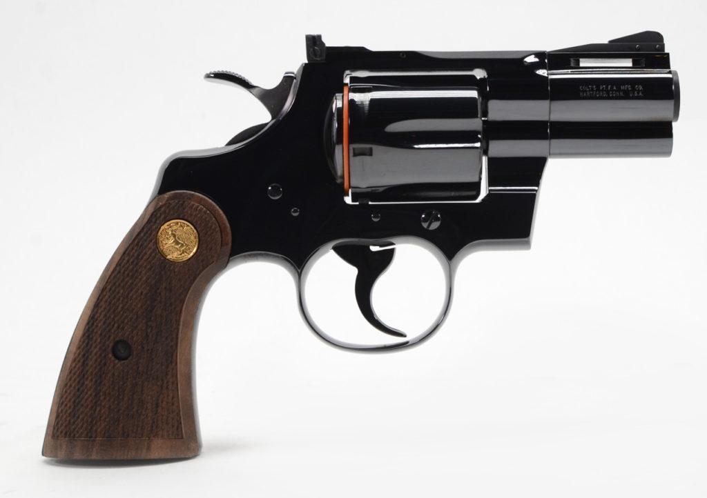 Colt Python short barrel