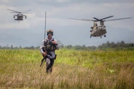 Air Force Special Tactics operator Haiti
