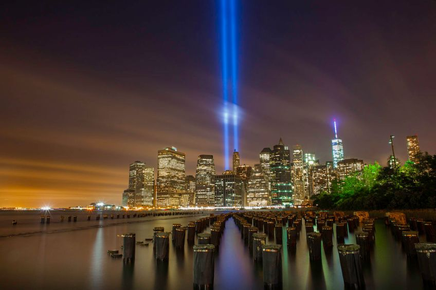 Tributes in Light NYC New York World Trade Center