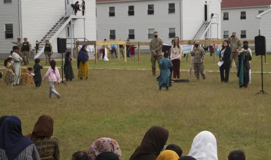 Afghan refugees Fort McCoy