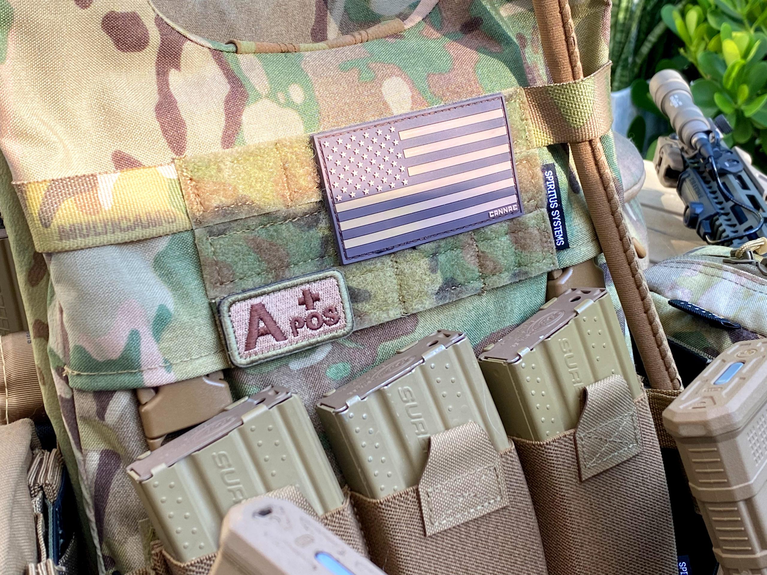 LV-119 Front Overt Plate Bag Spiritus Systems