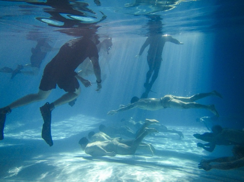 subsurface swim MAC pre-scuba Green Berets