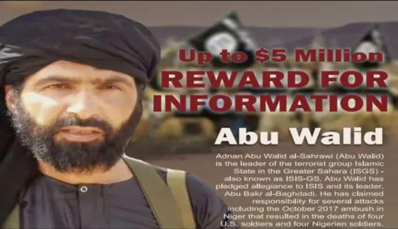 Adnan Abou Walid al Sahraoui wanted