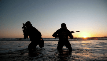 First Female Navy SEAL Candidates and Commanding Officer Captain Burt Raven's Scar
