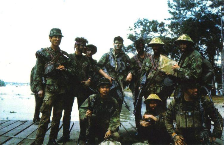 SEALs Vietnam Stoner 63 LMG