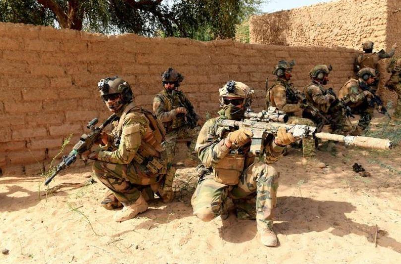Takuba Task Force soldiers Mali