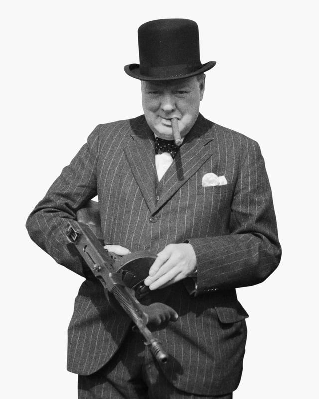 Churchill Tommy Gun