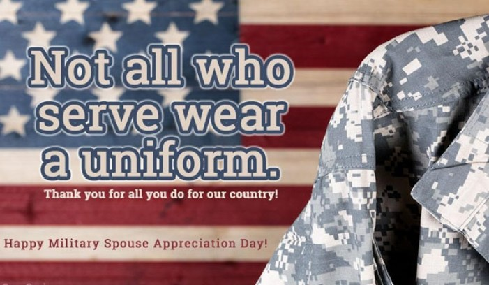 military spouse appreciation day poster