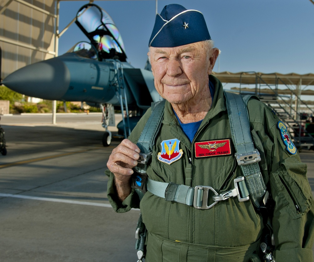 Charles Chuck Yeager F-15D Eagle