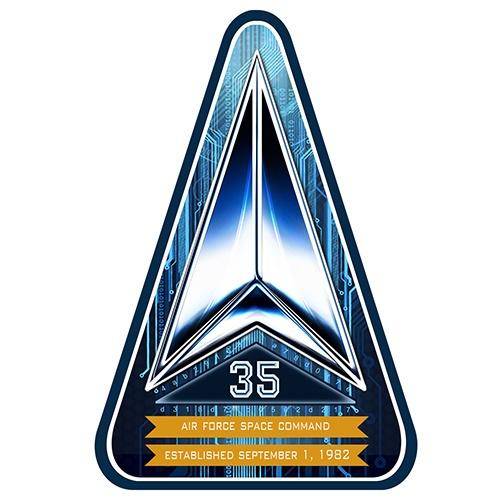 AFSPC 35th Anniversary Logo