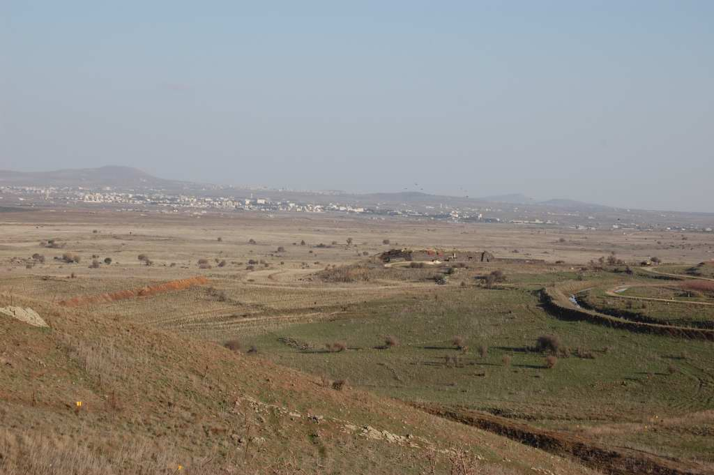Golan Heights tank ditches