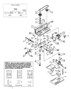 Buy Delta 11980 Type1 Replacement Tool Parts | Delta 11