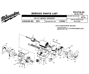 Buy Milwaukee 4921(41906A) 13 HP Bench Replacement