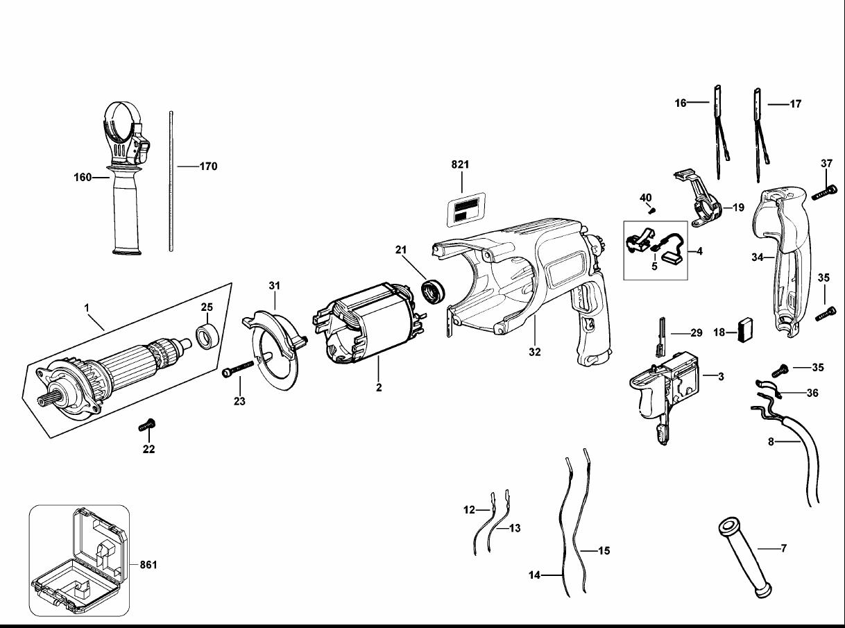 Buy Dewalt D K Type 2 1 Inch Pistol Grip Three Mode