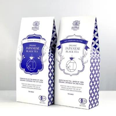 NEW!!国産オーガニック紅茶・飲み比べセット|プレミアム春摘み&夏摘み|ティーバッグタイプ|Japanese Organic Black Tea Set (First Flush & Second Flush) Teabags