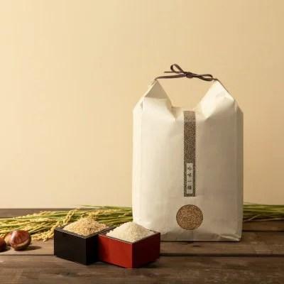 【令和2年産】オーガニック 自然栽培 金のいぶき 5kg 玄米/白米