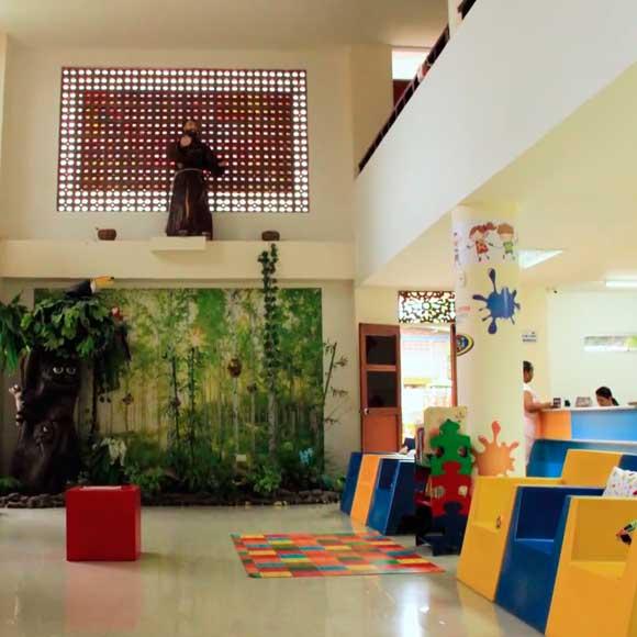 Sala de atención para padres