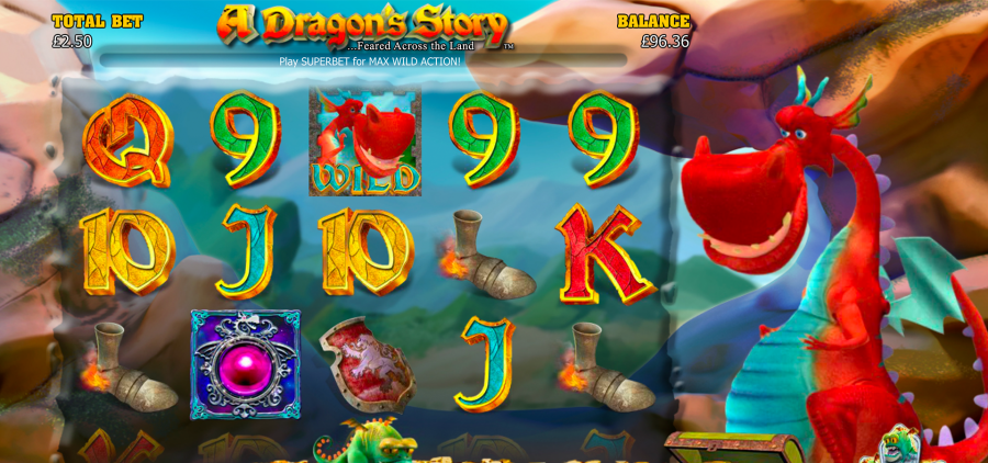 Play A Dragons Story Casino Game at William Hill Vegas A Dragon s Story is a 5 reel slot game with a Superbet   Free Games Feature  and a Brave Sir William Bonus to boost your winnings