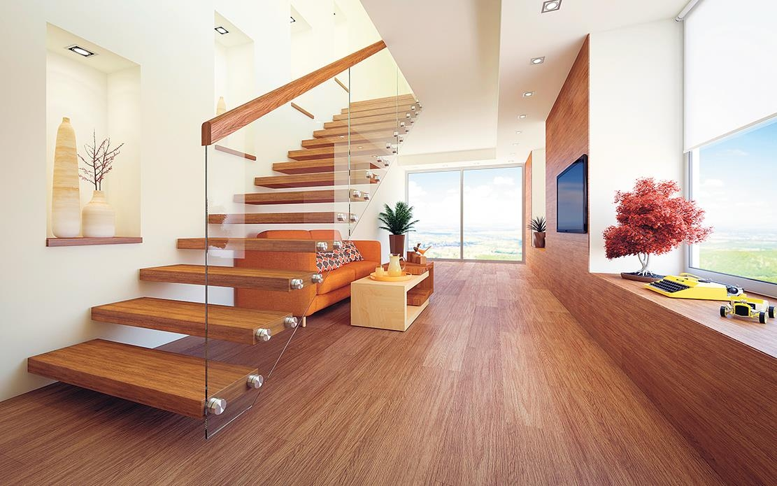 Infuse A Good Dose Of Style And Personality Into The Staircase Of | Duplex House Steps Design | New | Cement | Wood | Spiral Staircase | Steel