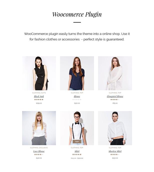 fashion theme