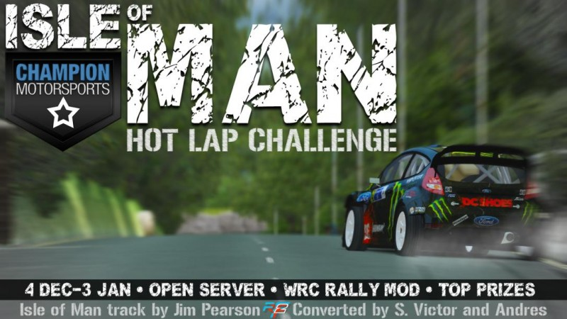Isle of Man Time Attack Competition with Prizes by CMS