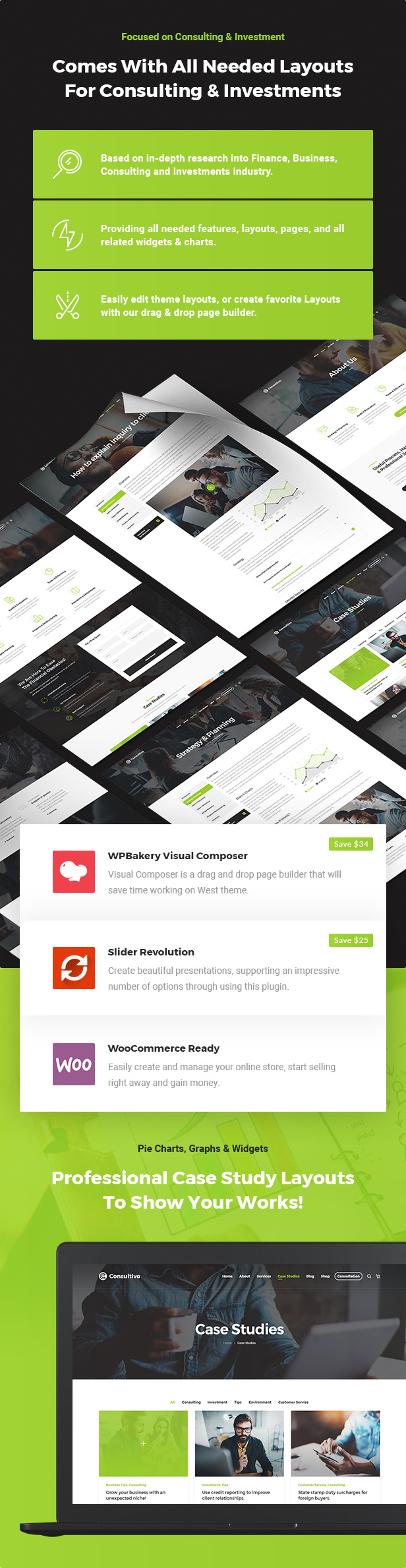 Consultivo - WordPress theme for business and investment consulting - 6