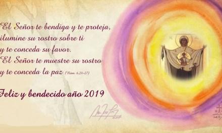 Feliz y bendecido año 2019