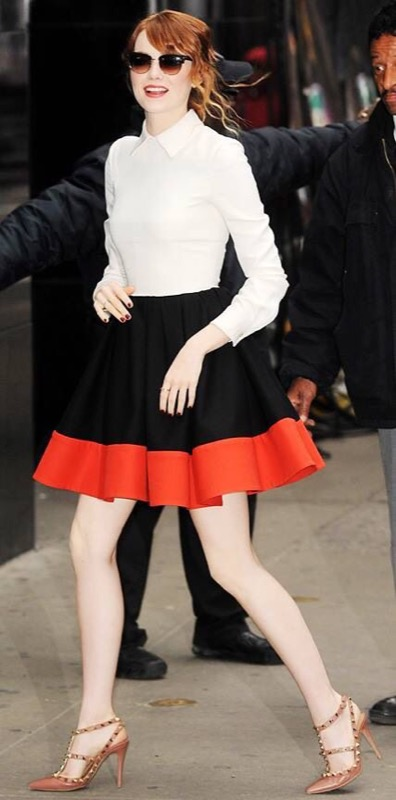 ClioMakeUp-celebrity-vestito-uguale-emma-stone