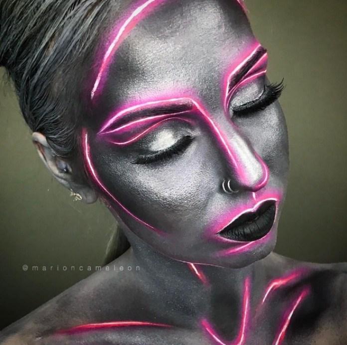 Cliomakeup-Neon-make-up-2